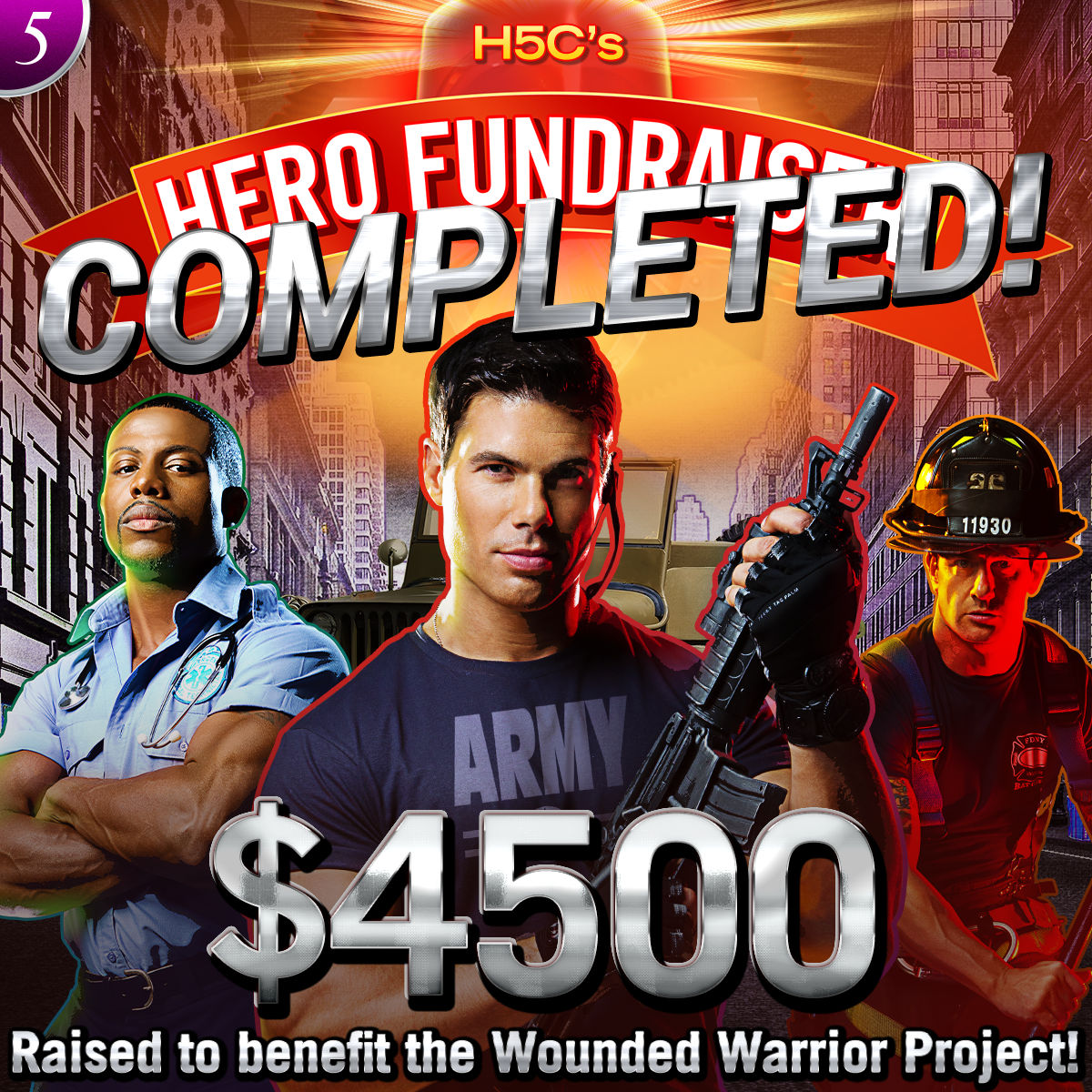 the wounded warrior project Join us saturday, nov 9th from 1-2pm for a wounded warrior project push-up contest click the link to learn more, sign-up and donate to the wounded warrior project.