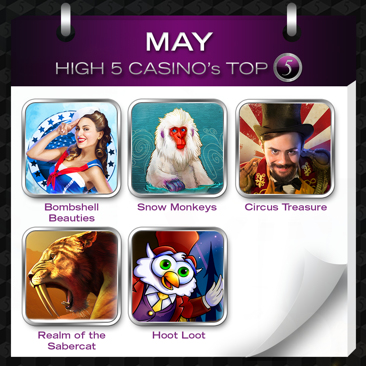 High 5 casino gratis