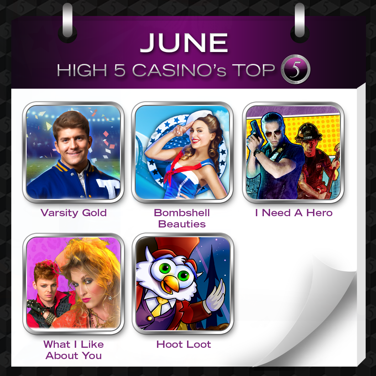 high five casino on facebook