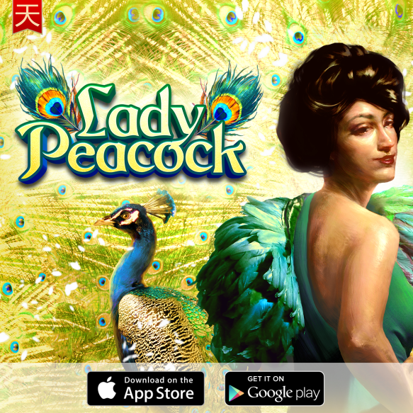 Lady-Peacock_glass_btns