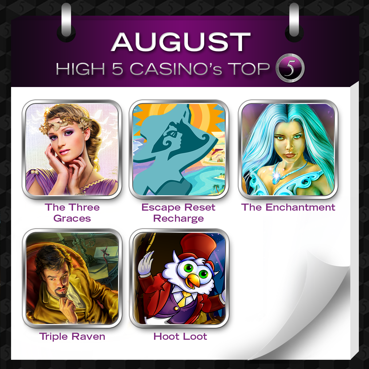 High 5 casino update