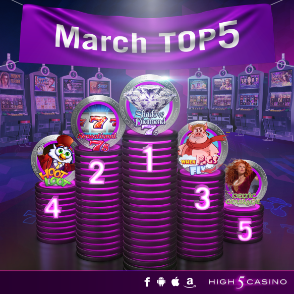High 5 casino games on facebook