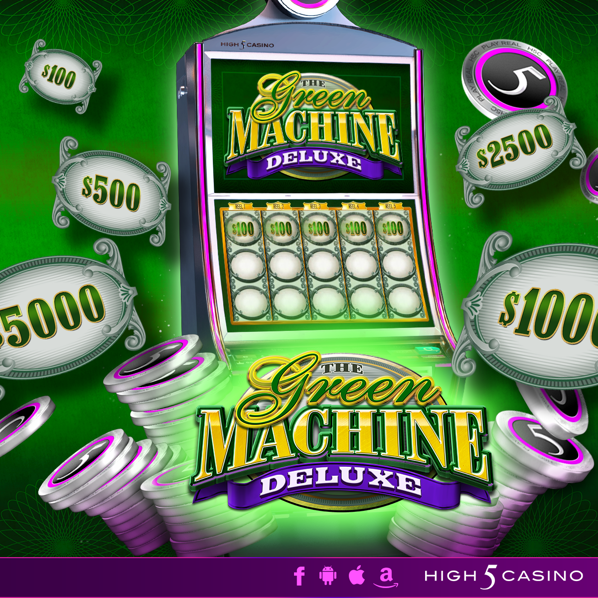 The Green Machine Slot Game